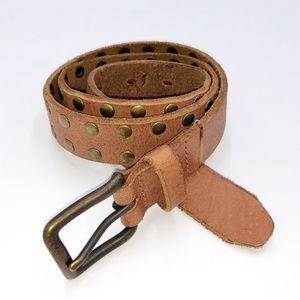 J. Crew Studded Leather Belt